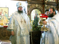 Служение правящего архиерея на праздник Архангела Михаила