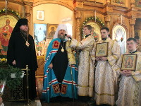 В Петропавловске состоялись Торжества посвященные 1210-летию преставления святого Равноапостольного князя Владимира