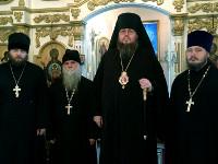 Правящий архиерей посетил храм св. блаженной Матроны Московской  в с. Кара-Гога