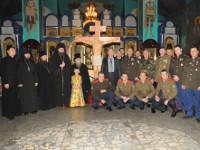 Новое храмовое распятие освятили в Булаево