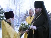 Правящий архиерей возглавил Божественную Литургию в Свято-Никольском кафедральном соборе города Булаево