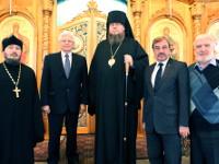 Чрезвычайный и Полномочный Посол Российской Федерации в Казахстане Бочарников Михаил Николаевич посетил Кафедральный собор Вознесения Господня
