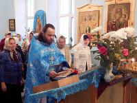 Престольный праздник «Введение во Храм Пресвятой Богородицы» состоялся в с. Саумалколь