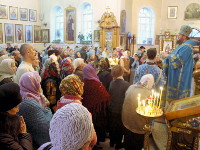 Введение во храм Пресвятой Владычицы нашей Богородицы и Приснодевы Марии