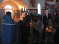 Правящий архиерей совершил Божественную Литургию в селе Архангельское