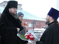 Соборное вечернее богослужение на праздник великомученицы Варвары 16 декабря 2015 г.