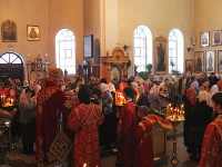 Божественная Литургия в Кафедральном соборе Вознесения Господня