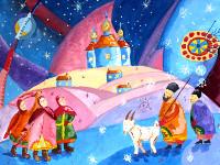 Багиенко Алиса, 12 лет. Традиции Рождества