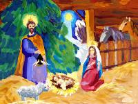 Элли Диана, 14 лет. Рождение Христа