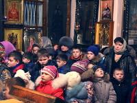 Правящий архиерей возглавил Божественную Литургию в храме Всех Святых
