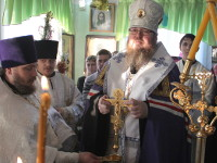 Правящий архиерей совершил Великое освящение воды в сельских приходах