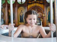 Купание в Крещенской купели