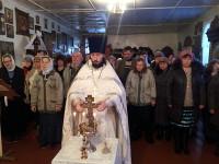 Крещение Господне в храме Казанской иконы Божией Матери г. Мамлютка