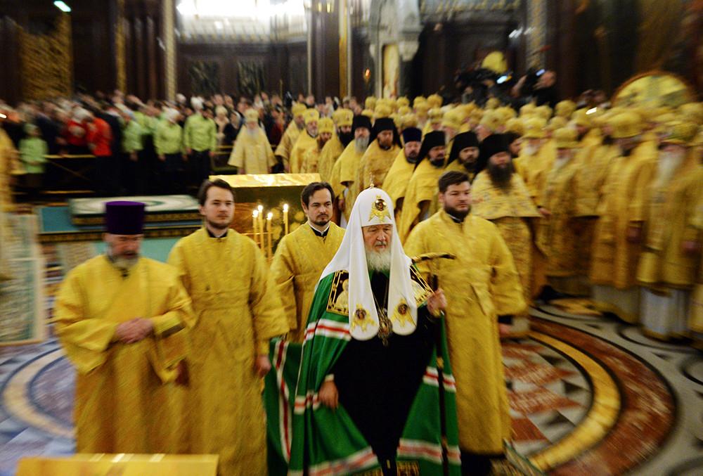 Годовщина интронизации Святейшего Патриарха Кирилла