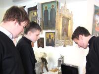 Посещение Правящим архиереем епархиального музея