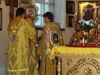 В неделю 37-ю епископ Петропавловский и Булаевский Владимир возглавил Божественную Литургию в Кафедральном соборе Петропавловска