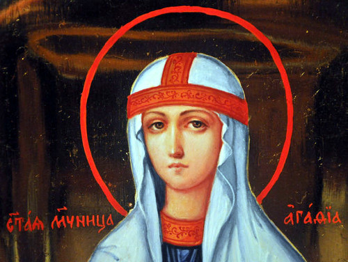 Святая мученица Агафия Палермская