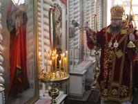 В неделю мытаря и фарисея правящий архиерей совершил Божественную Литургию в Петро-Павловском соборе