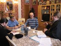 Правящий архиерей провел рабочую встречу с руководством Русской Общины Северного Казахстана