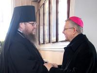 Визит в Кафедральный собор Вознесения Господня  Архиепископа Томаша Пэта