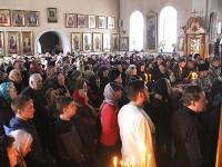 «Ненавидящим нас простим вся Воскресением» — чин прощения в Кафедральном соборе