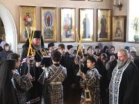 Чтение Великого покаянного канона Андрея Критского в кафедральном соборе Вознесения Господня