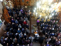 «Помилуй нас Господи, яко немощны есмы» — первое соборование в Кафедральном соборе