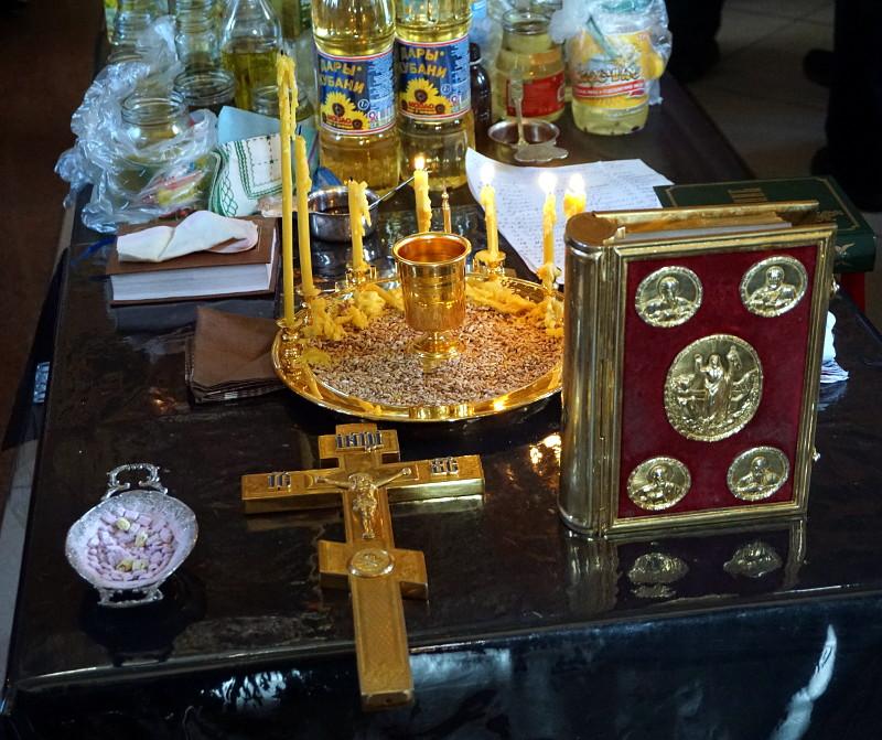 «Помилуй нас Господи, яко немощны есмы» - первое соборование в Кафедральном соборе