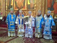 Преосвященнейший Владимир, епископ Петропавловский и Булаевский сослужил Главе Митрополичьего округа в городе Алма-Ата