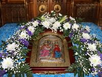 В канун праздника Благовещения Пресвятой Владычицы нашей Богородицы правящий архиерей совершил всенощное бдение в кафедральном соборе города Петропавловска