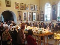 Третья великопостная родительская суббота в Вознесенском кафедральном соборе