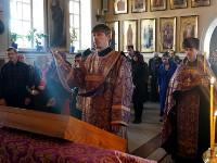 В Вознесенском Кафедральном соборе города Петропавловска было совершено всенощное бдение