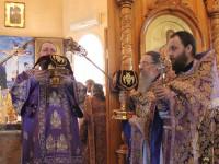 Служение Преосвященного Владимира в страстной четверг