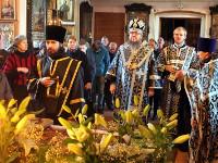 Великая суббота. Правящий архиерей совершил Божественную Литургию в храме Всех Святых