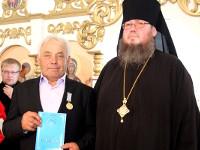 Правящий архиерей совершил чин освящение храма в селе Кладбинка
