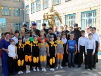 Посещение правящим архиереем Айыртауской школы-интерната для детей-сирот и детей, оставшихся без попечения родителей