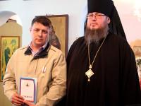 Епископ Петропавловский и Булаевский Владимир совершил чин освящения Введенского храма в селе Саумолколь