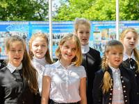 Митрополит Александр посетил частное учебное заведение – школу во имя преподобного Сергия Радонежского в городе Петропавловске