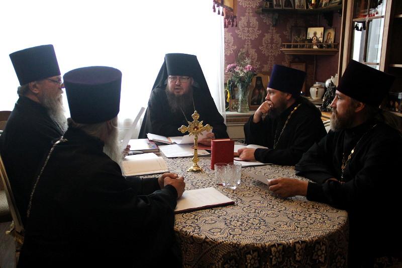 Заседание Епархиального Совета Петропавловско-Булаевской епархии