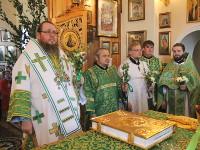 Праздник Святой Троицы в Вознесенском кафедральном соборе