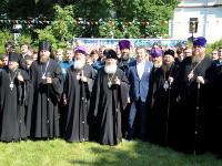 Преосвященный епископ Владимир принял участие в торжествах по случаю 100-летия прославления святителя Иоанна Тобольского