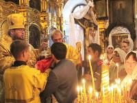 Престольный праздник храма Всех Святых города Петропавловска