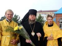 Преосвященнейший Владыка Владимир возглавил праздничное Всенощное бдение в канун Собора Всех Святых,  в земле Русской просиявших