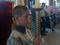 День памяти преподобного Далмата Исетского  и Петра и Февронии Муромских  отметили в Вознесенском кафедральном соборе