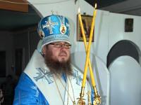 Преосвященнейший епископ Владимир возглавил  Божественную Литургию в посёлке Явленка