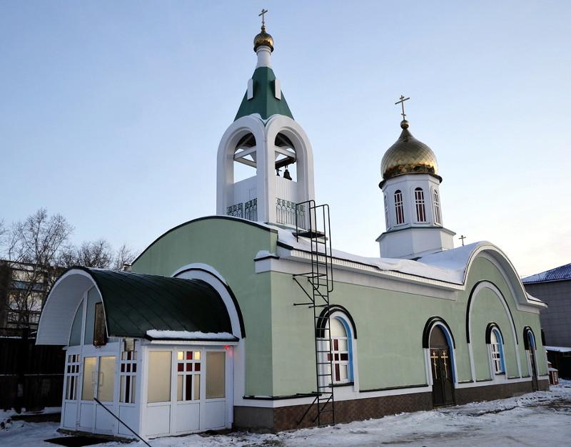 Крестильный храм в честь священномученика Мефодия епископа Петропавловского