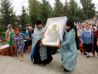 Паломничество с иконой Божией Матери «Знамение» по приходам Бескольского благочиния