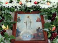 Всенощное бдение под праздник Преображения Господня в Кафедральном Соборе