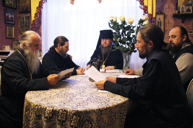 Собрание руководителей благочиннических округов Петропавловской и Булаевской епархии