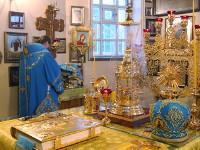 Память Владимирской иконы Пресвятой Богородицы почтили в главном храме Петропавловской и Булаевской епархии